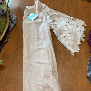 Umber Cream dress NWT